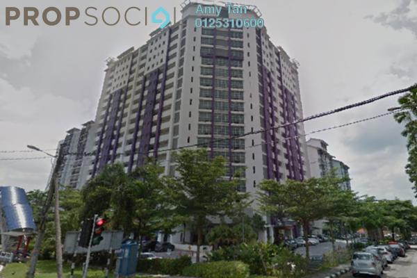 For Sale Serviced Residence at SuriaMas Suites, Johor Bahru Freehold Semi Furnished 3R/1B 263k