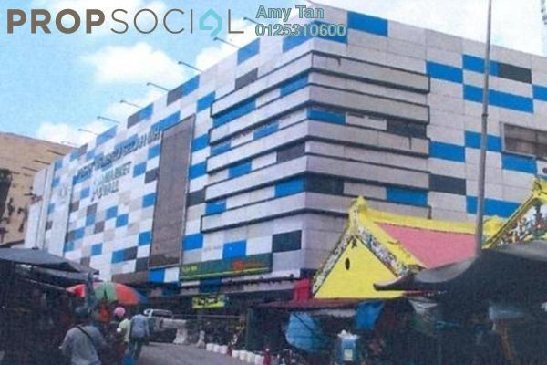 For Sale Shop at Market Hall, Pudu Freehold Semi Furnished 0R/0B 102k