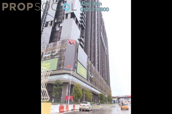 For Sale Serviced Residence at M City, Ampang Hilir Freehold Semi Furnished 3R/1B 424k