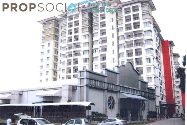For Sale Apartment at Bayou Lagoon, Melaka Freehold Semi Furnished 0R/0B 216k