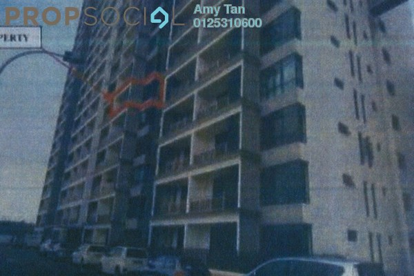 For Sale Apartment at Taman Kempas Indah, Johor Bahru Freehold Semi Furnished 0R/0B 223k