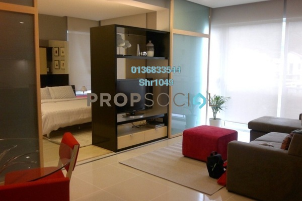 For Rent Condominium at VERVE Suites, Mont Kiara Freehold Fully Furnished 1R/1B 2.25k