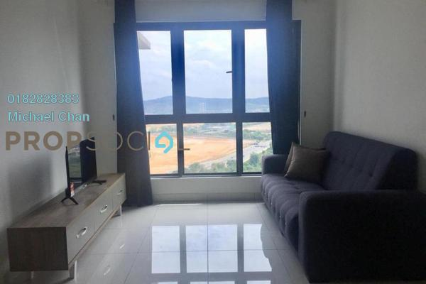 For Rent Serviced Residence at The Link 2 Residences, Bukit Jalil Freehold Fully Furnished 62R/1B 2k