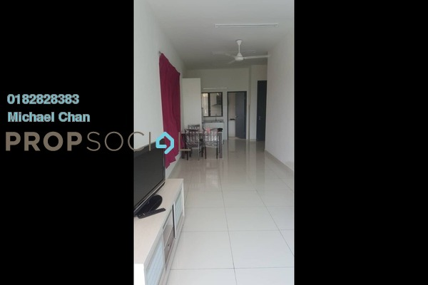 For Rent Serviced Residence at The Link 2 Residences, Bukit Jalil Freehold Fully Furnished 2R/2B 2.4k