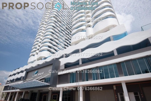 For Sale Serviced Residence at The Wave Residence, Melaka Freehold Unfurnished 2R/1B 288k