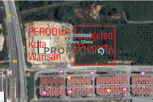 For Rent Land at Kota Warisan, Sepang Freehold Unfurnished 0R/0B 34k