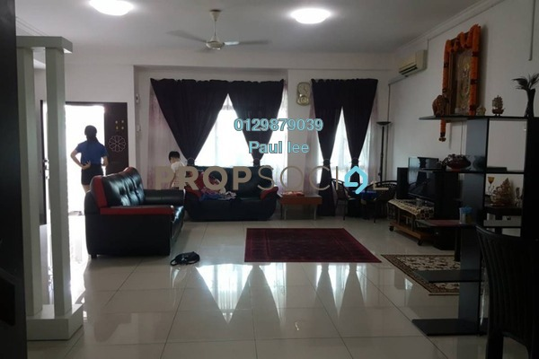 For Sale Terrace at Aster, Bandar Puchong Utama Freehold Semi Furnished 4R/3B 870k