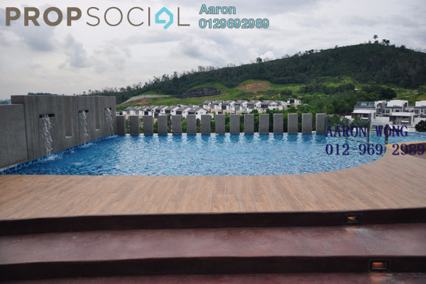 For Rent Condominium at Sutera Pines, Bandar Sungai Long Freehold Semi Furnished 3R/2B 1.7k