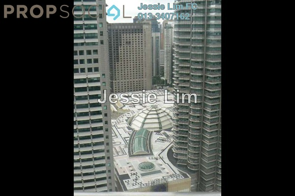 For Sale Serviced Residence at K Residence, KLCC Freehold Semi Furnished 2R/3B 2.9m
