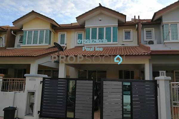 For Sale Terrace at Taman Puchong Prima, Puchong Freehold Semi Furnished 4R/3B 718k
