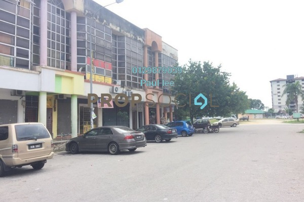 For Sale Shop at Bandar Pinggiran Subang, Subang Freehold Unfurnished 0R/2B 650k