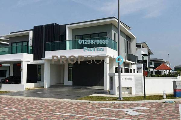 For Sale Semi-Detached at D'Island, Puchong Freehold Semi Furnished 6R/6B 1.9m