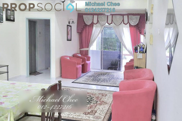 For Sale Apartment at Sinar Bukit Dumbar, Gelugor Freehold Fully Furnished 3R/2B 365k