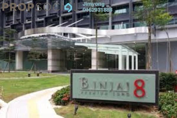 For Sale Condominium at Binjai 8, KLCC Freehold Semi Furnished 2R/2B 1.53m