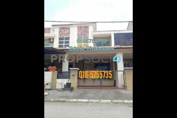 For Sale Link at Panorama Lapangan Perdana, Ipoh Freehold Semi Furnished 4R/3B 358k