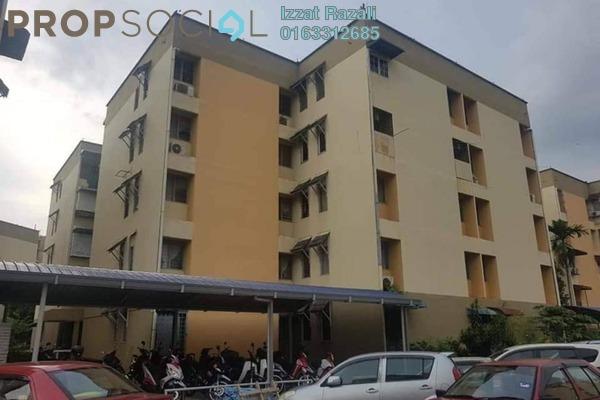 For Sale Apartment at Baiduri Apartment, Desa Pandan Freehold Semi Furnished 3R/2B 250k