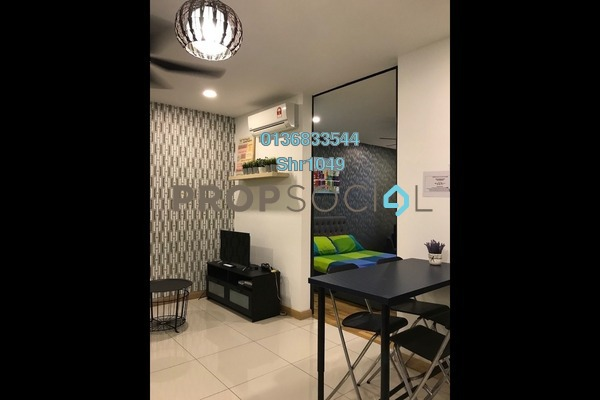 For Rent Condominium at KL Gateway, Bangsar South Freehold Fully Furnished 2R/1B 2.6k