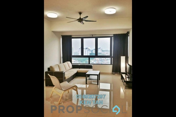 For Rent Condominium at Residence 8, Old Klang Road Freehold Fully Furnished 2R/1B 2.1k