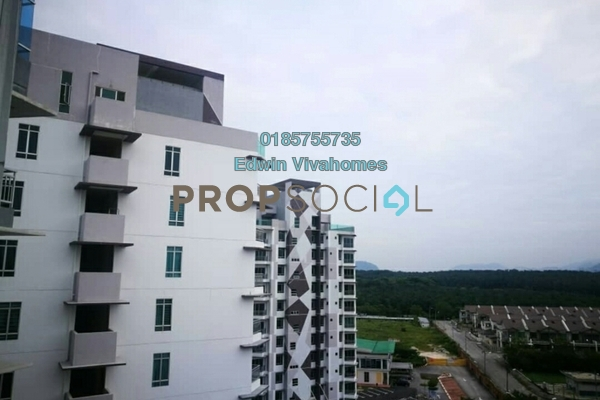 For Rent Apartment at Sky Garden Residences, Chemor Freehold Semi Furnished 2R/2B 750translationmissing:en.pricing.unit