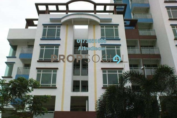 For Rent Condominium at Bukit Segambut, Segambut Freehold Semi Furnished 3R/2B 1.3k