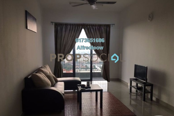 For Rent Condominium at Saujana Gombak Apartment, Batu Caves Freehold Fully Furnished 3R/2B 1.3k