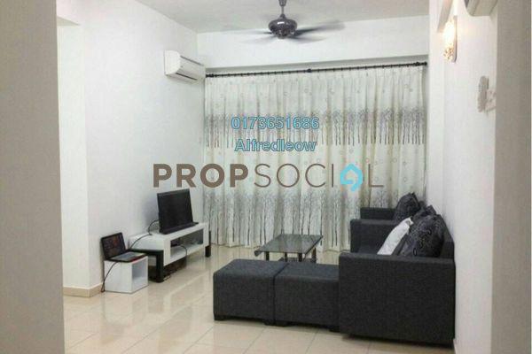 For Rent Condominium at Taman Sri Rampai, Setapak Freehold Fully Furnished 3R/2B 1.7k