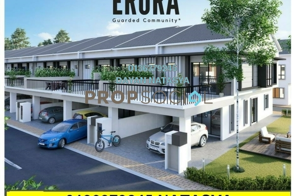 For Sale Terrace at Erora, Nilai Freehold Semi Furnished 4R/4B 630k