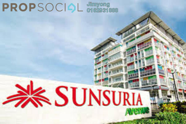 For Sale Office at Sunsuria Avenue, Kota Damansara Freehold Semi Furnished 2R/1B 55.8k