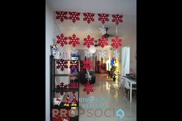 For Rent Condominium at Kiara Residence 2, Bukit Jalil Freehold Semi Furnished 4R/3B 2k