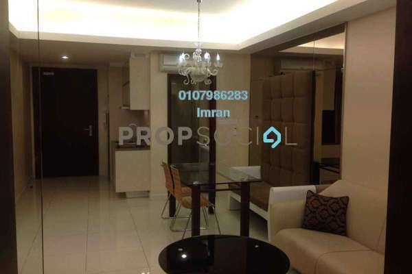 For Sale Serviced Residence at Plaza Damas 3, Sri Hartamas Freehold Fully Furnished 0R/1B 525k