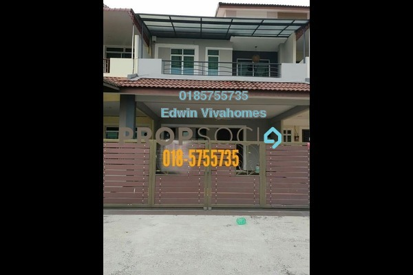 For Sale Superlink at Bandar Cyber, Ipoh Leasehold Semi Furnished 4R/4B 560k