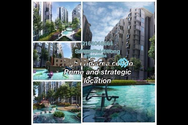 For Sale Condominium at H2O Residences, Ara Damansara Freehold Semi Furnished 1R/1B 374k