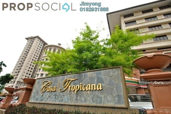 For Sale Condominium at Casa Tropicana, Tropicana Freehold Semi Furnished 2R/2B 760k