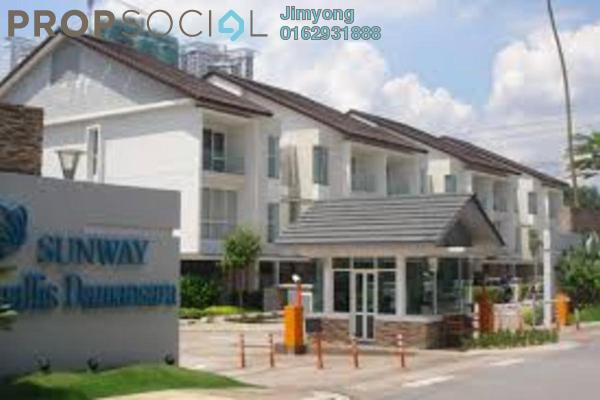 For Sale Townhouse at Challis Damansara, Sunway Damansara Freehold Semi Furnished 3R/3B 1.5m