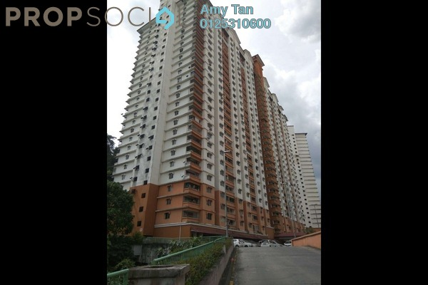 For Sale Apartment at Flora Damansara, Damansara Perdana Freehold Semi Furnished 0R/0B 98k