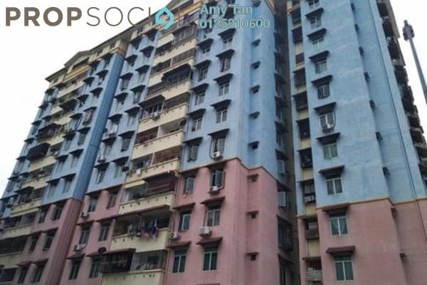 For Sale Apartment at Cheras Utama Apartment, Cheras South Freehold Semi Furnished 3R/1B 179k