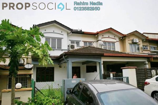 For Sale Terrace at Taman Puncak Jalil, Bandar Putra Permai Freehold Semi Furnished 4R/3B 500k