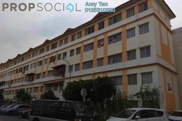 For Sale Apartment at Impian Flat, Bandar Saujana Putra Freehold Semi Furnished 0R/0B 81k