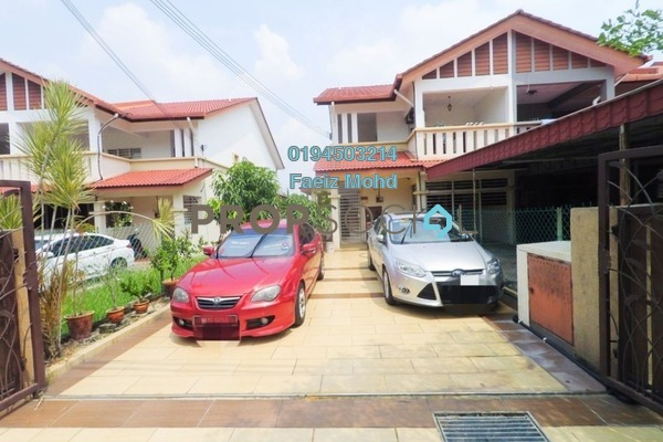 For Sale Townhouse at Bandar Country Homes, Rawang Freehold Semi Furnished 3R/2B 345k