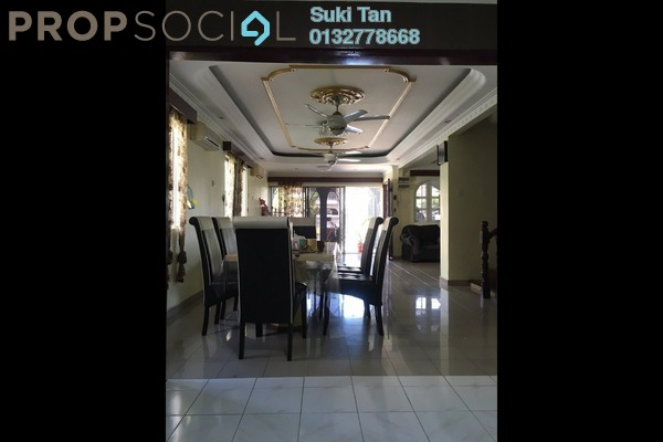 For Sale Terrace at Taman Bukit Maluri, Kepong Freehold Semi Furnished 4R/3B 1.3m