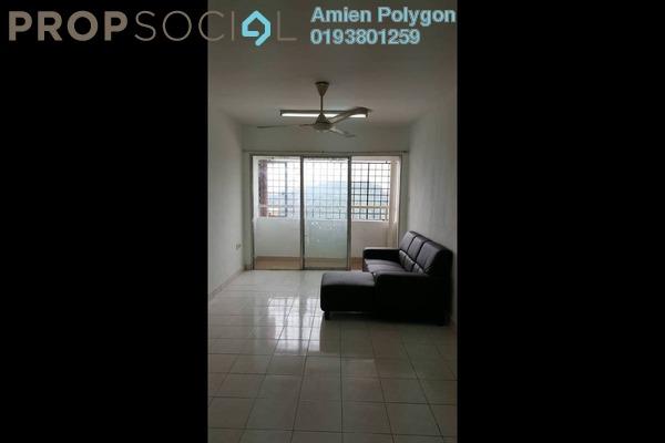 For Sale Apartment at Flora Damansara, Damansara Perdana Freehold Semi Furnished 3R/2B 190k
