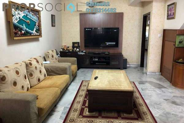 For Sale Terrace at Section 6 , Wangsa Maju Freehold Semi Furnished 4R/3B 880k