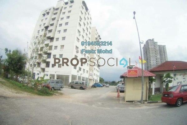 For Sale Apartment at Taman Selasih, Batu Caves Freehold Unfurnished 3R/2B 165k