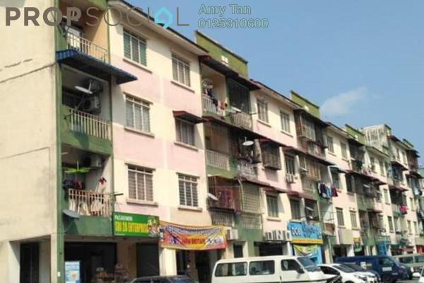 For Sale Apartment at Taman Mas Sepang, Puchong Freehold Semi Furnished 0R/0B 108k