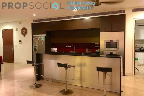 For Rent Condominium at One Menerung, Bangsar Freehold Semi Furnished 3R/5B 13k