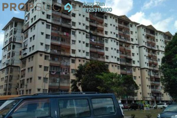 For Sale Apartment at Taman Tun Teja, Rawang Freehold Semi Furnished 0R/0B 162k