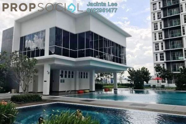 For Sale Condominium at Green Residence, Cheras South Freehold Semi Furnished 3R/4B 567k