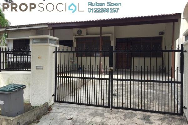 For Rent Terrace at Taman Pelangi, Johor Bahru Freehold Unfurnished 4R/2B 1.35k