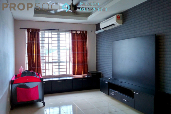 For Sale Condominium at Banjaria Court, Batu Caves Leasehold Semi Furnished 2R/2B 400k
