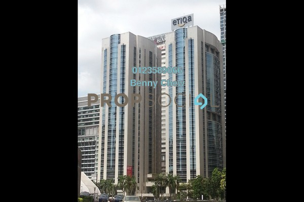 For Rent Office at Etiqa Twins, KLCC Freehold Semi Furnished 0R/0B 13k
